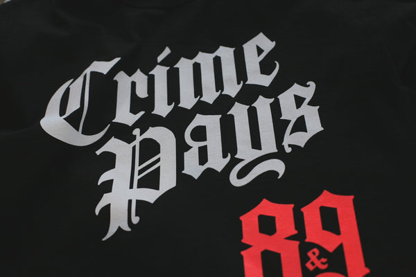 Crime Pays 2.0 Jersey Tee L/S Infrared - 3