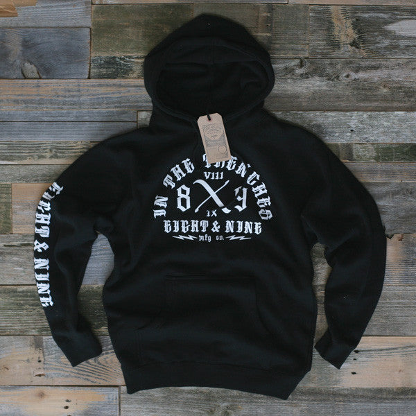 Trench Dweller Hooded Sweatshirt Black