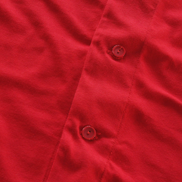 Keys Cotton Baseball Jersey Red - 4