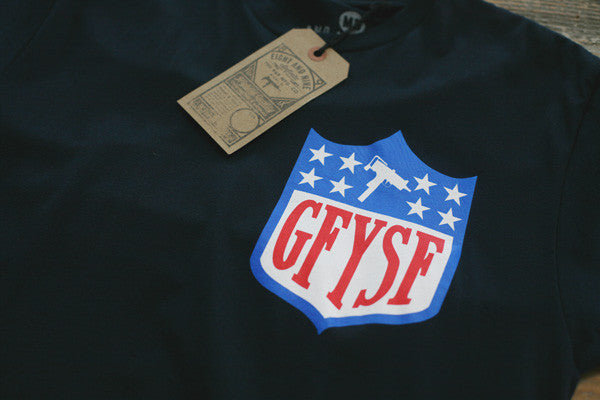 GFYSF League Tee Navy - 2