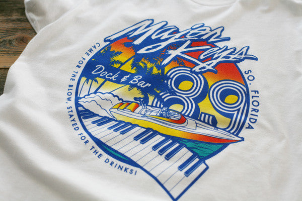 Major Keys T Shirt White - 2
