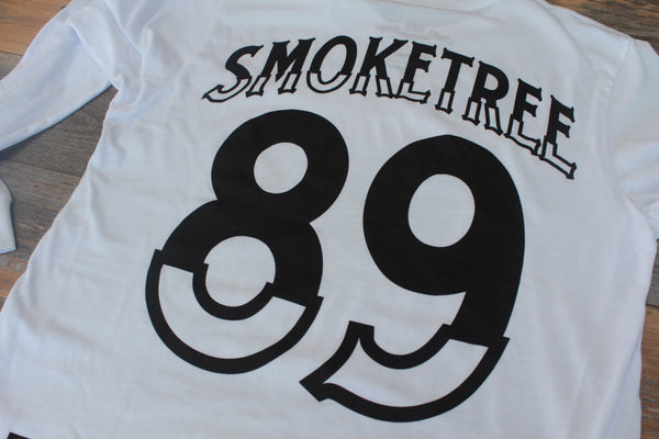 Smoke Tree Jersey Tee White L/S - 6