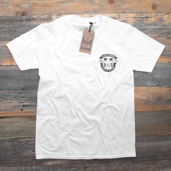 Bossed Up Tee White - 1
