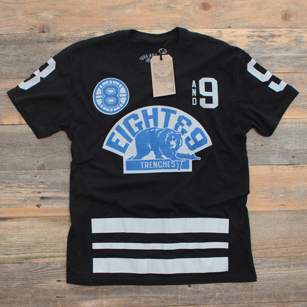 Trenches Jersey Tee Sport Blue - 1