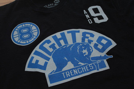 Trenches Jersey Tee Sport Blue - 3