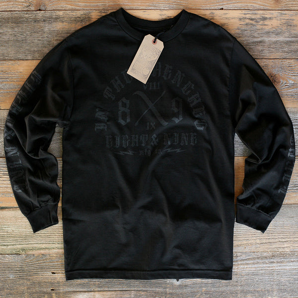 Trench Dwellers L/S Tee Black