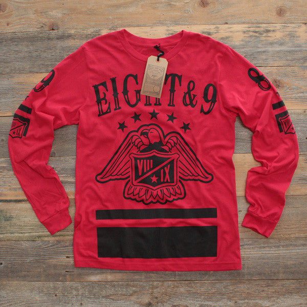 CSKA Hockey Jersey Tee Red L/S - 1