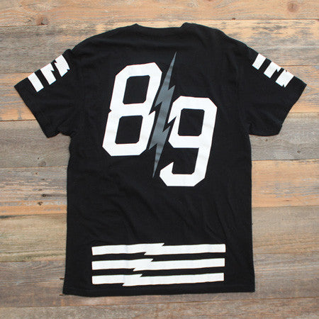 Trappin Jersey Tee Black - 2