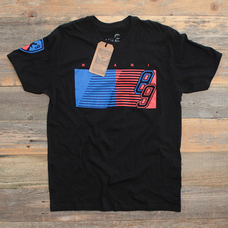 89'ers T Shirt Black - 1