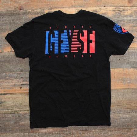 89'ers T Shirt Black - 2