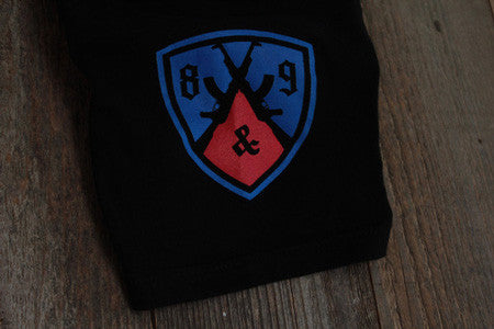 89'ers T Shirt Black - 5