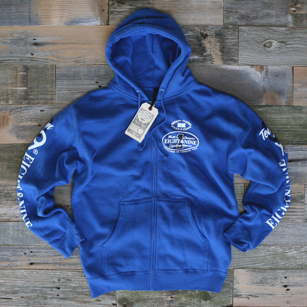 Offshore Imports Zip Up Hoody Sport Blue