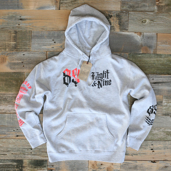 Club Life Hooded Sweatshirt Grey