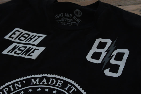 Trappin Jersey Tee Black - 4