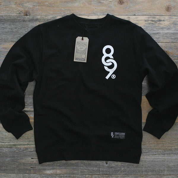 Keys Crewneck Sweatshirt Black
