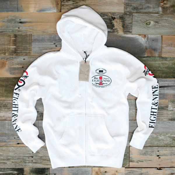 Offshore Imports Zip Up Hoody Fire Red
