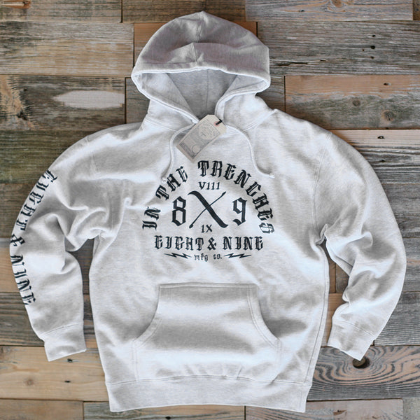 Trench Dweller Hooded Sweatshirt Heather