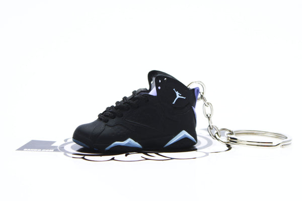 new concept 066b8 d7c45 Jordan Chambray 7 Mini Sneaker Keychain   8 9 Clothing Co.