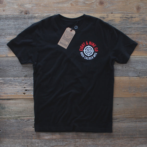 High Caliber T-Shirt Black