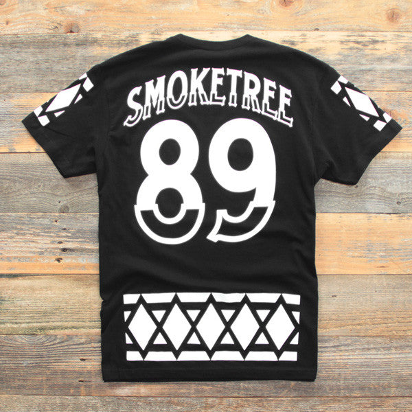 SmokeTree Hockey Jersey Tee Black - 2