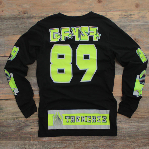 Moscow Hockey Jersey Tee Volt L/S - 2
