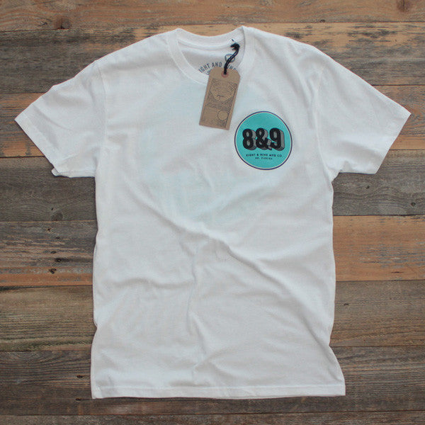Cement Co. T Shirt White - 1