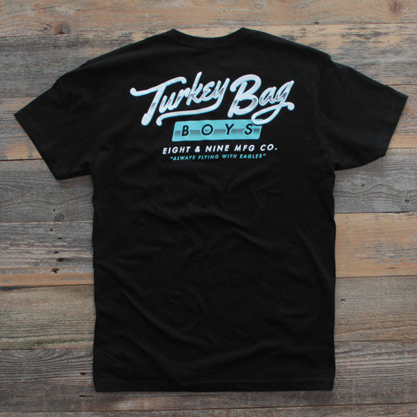 Turkey Bag Boys T Shirt Black - 1