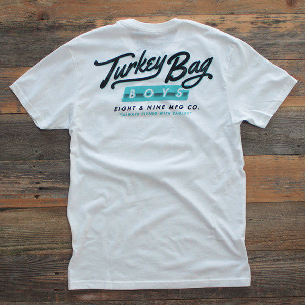 Turkey Bag Boys T Shirt White - 1