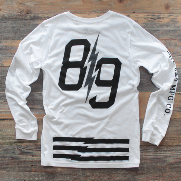 Trappin Jersey L/S White - 2