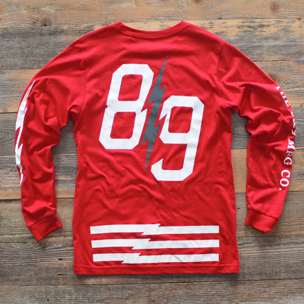 Trappin Jersey L/S Red - 2