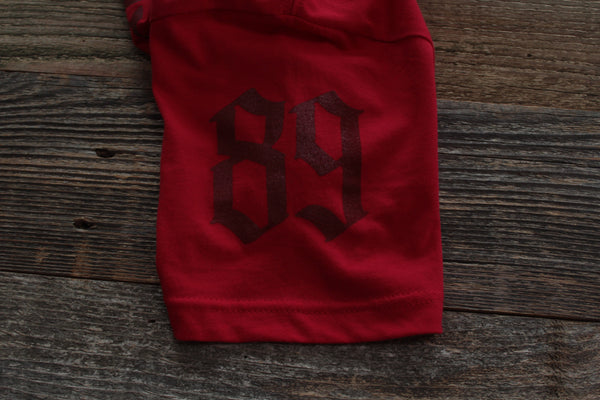 LowBrow Tee Red Tonal - 2