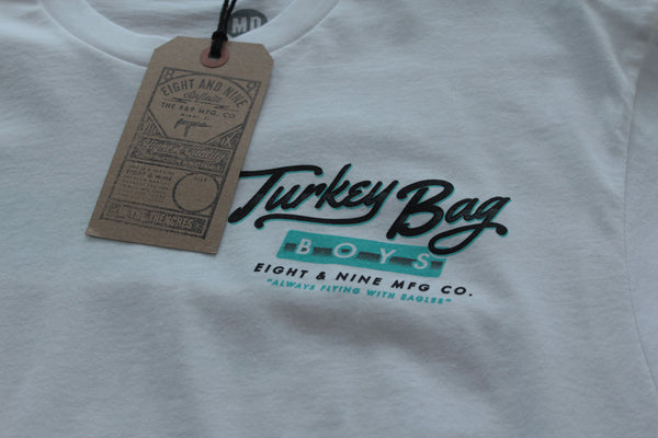 Turkey Bag Boys T Shirt White - 3