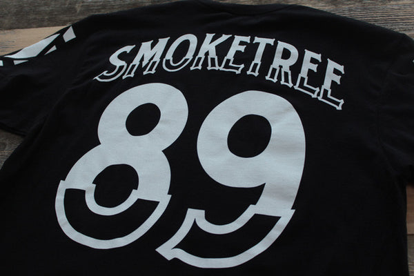 SmokeTree Hockey Jersey Tee Black - 6
