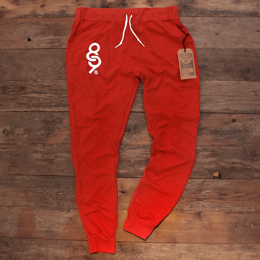 Keys French Terry Yard Sweats Fire Red - 1