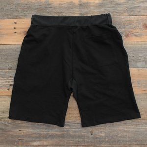 Keys French Terry Yard Shorts Black/Red - 2