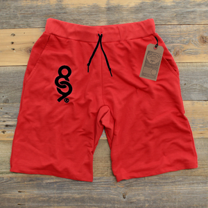 Keys French Terry Yard Shorts Bred - 1