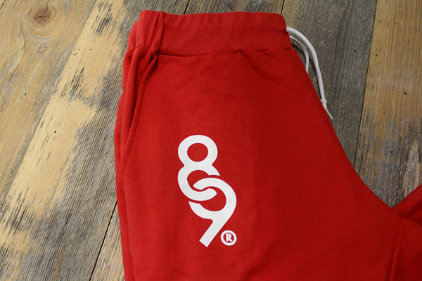 Keys French Terry Yard Sweats Fire Red - 3
