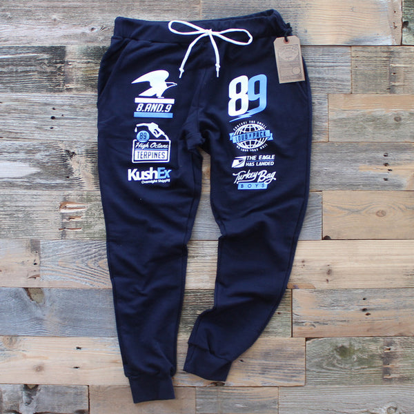 OG Gas French Terry Yard Sweats French Blue - 1