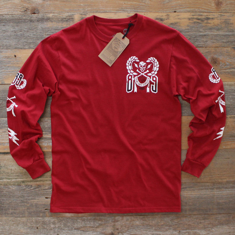 Sniper Team Jersey L/S Deep Red - 1