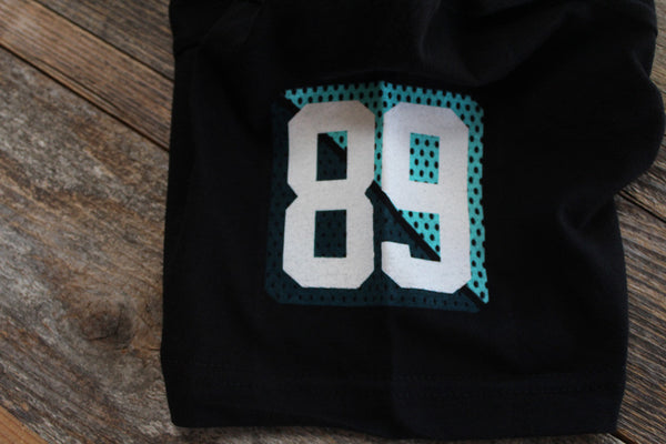 Bulldog Jersey T Shirt Teal - 5