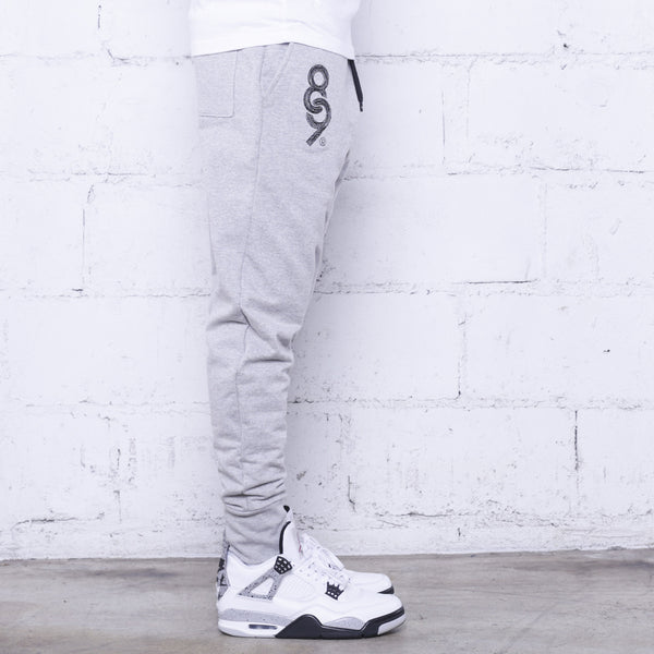 Keys Premium Terry Joggers Heather