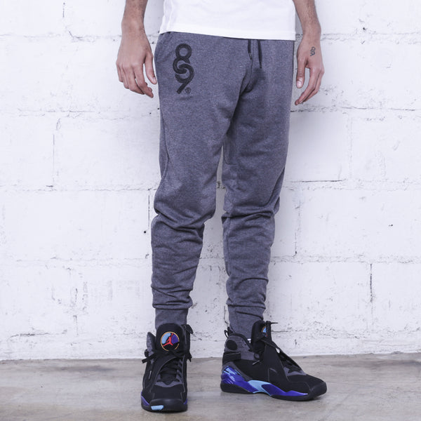 new product fe6cb 31e7a Keys Premium Terry Joggers Charcoal   8 9 Clothing Co.