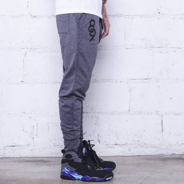 Keys Premium Terry Joggers Charcoal