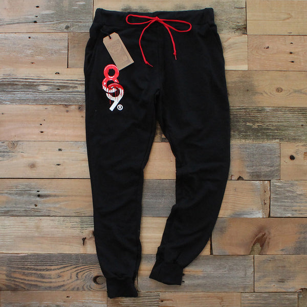 Drip Keys French Terry Yard Sweats Bred - 1