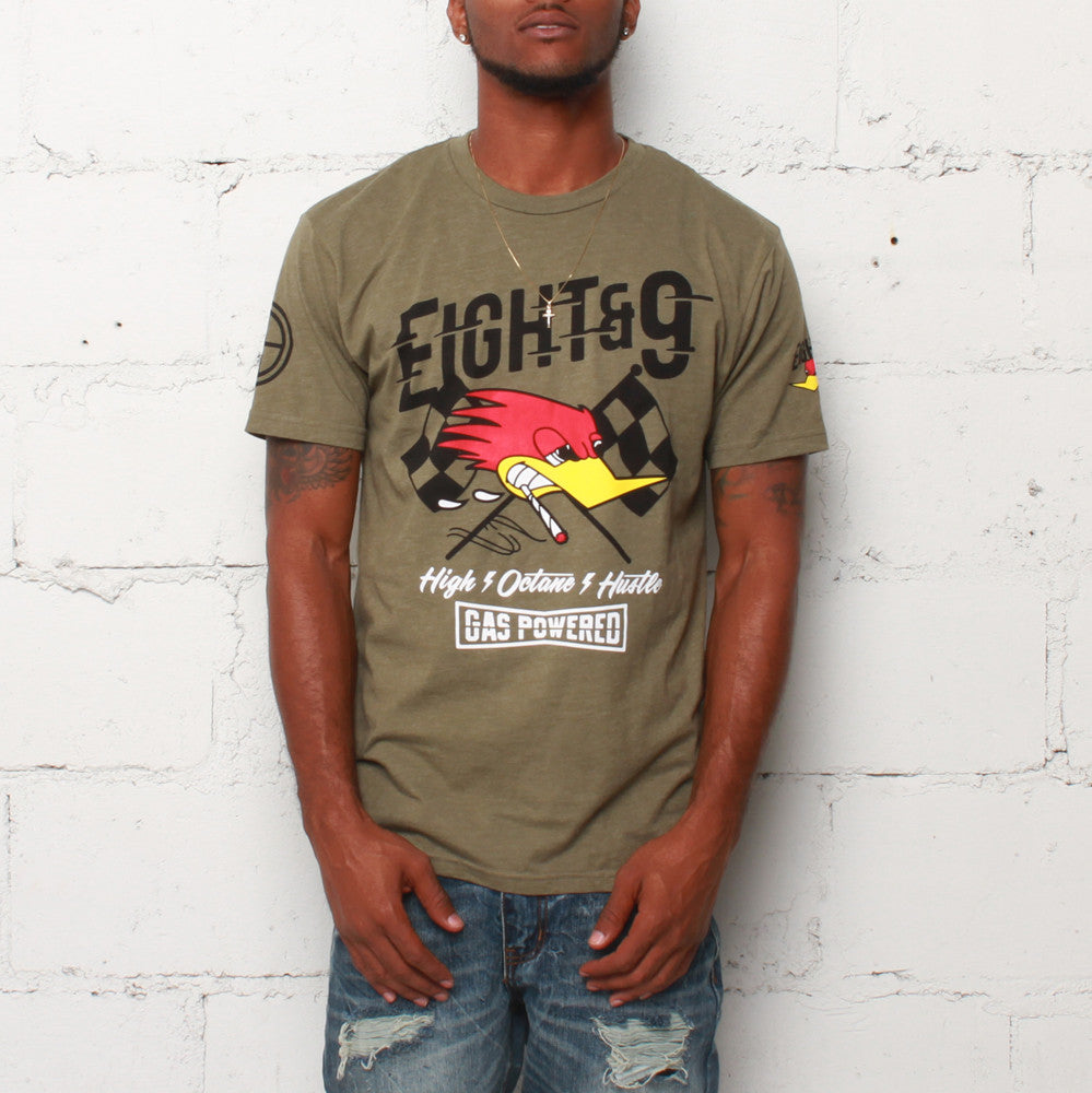 Octane T Shirt Army Heather