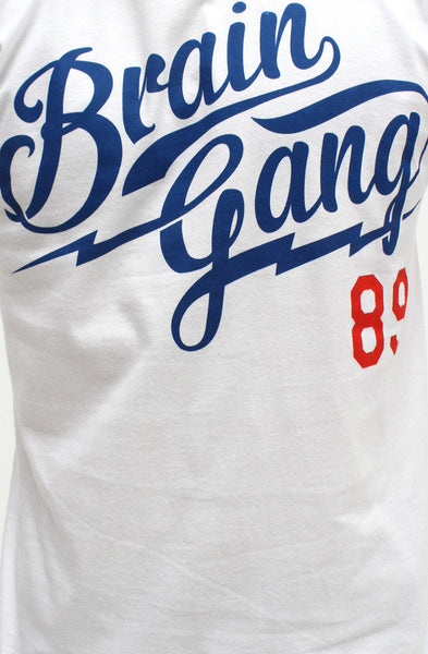 White Brain Gang MLB T Shirt - 2