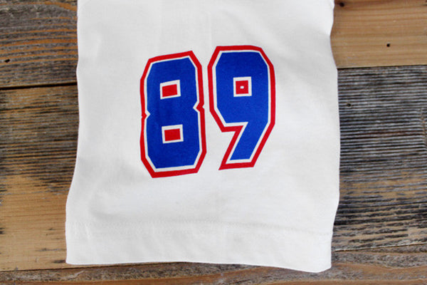 CSKA Hockey Jersey Tee White - 5