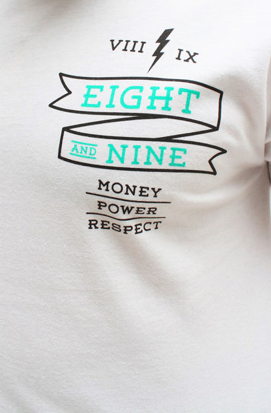 Money Power Respect White T Shirt - 2