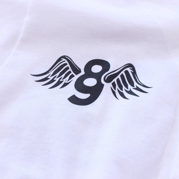 Kustom Life White Cotton Baseball Jersey - 3