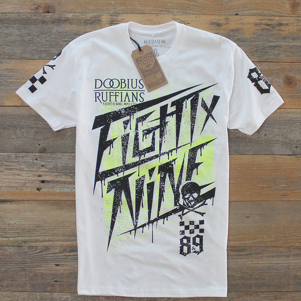 Race Team Jersey Tee White